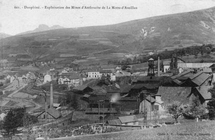 Exploitation des mines d'anthracite de La Motte-d'Aveillan